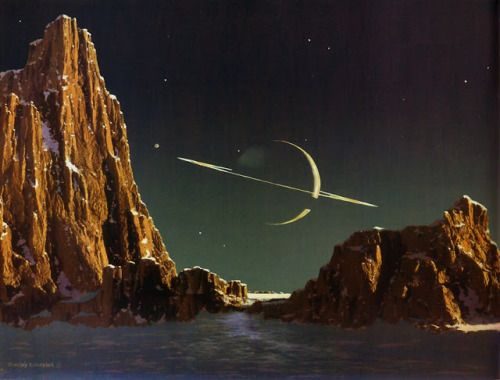 SPace is the place, Bonestell Space Art