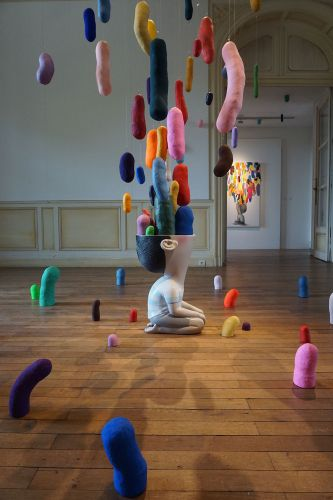 New Solo Exhibition by Seth Globepainter Fills a Historic Chateau in Bordeaux, France
