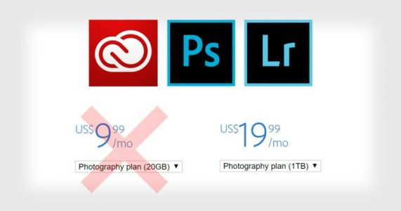 Adobe's $10 Photography Plan Gone from Site: Cheapest is $20/Month