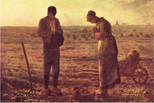 Jean-François Millet. French painter of Rural France. Born on this day in 1814