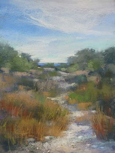 Blending Pastels and the Beach: A Video Demo