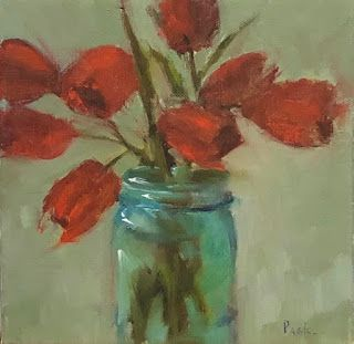 Red Tulips, Barbara Pask
