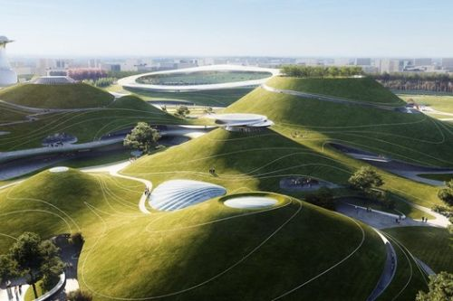 MAD Begins Construction on Quzhou Sports Campus in China