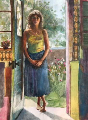 Learning Color and Composition from Bonnard