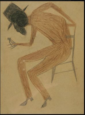 Bill Traylor. Let us honor forgotten African American artists