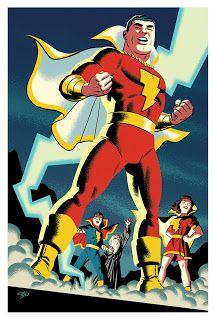 DC Comics Shazam: The World's Mightiest Mortal HC Cover