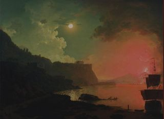 Joseph Wright of Derby. 18th century master painter of artificial light