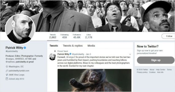 Ex-Nat Geo Photo Editor Patrick Witty Accused of Sexual Misconduct
