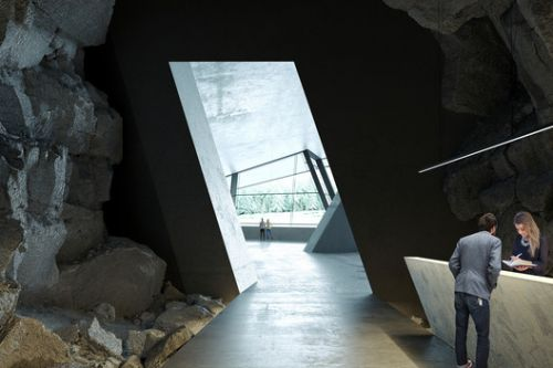 Ad Hoc Architecture Designs Hotel Inside a Cave for Rural Russia