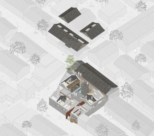 50 Best Residential Axonometric Drawings