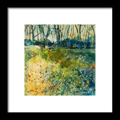 """Fine Art Print , Contemporary Abstract Landscape, """"Play Time"""" by Passionate Purposeful Painter Holly Hunter Berry"""