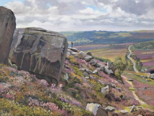 Rock Formations and Millstones, Burbage South