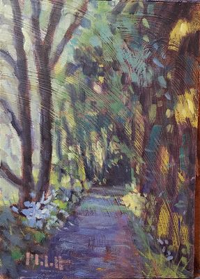 Contemporary impressionism Painting Landscape Nature Art