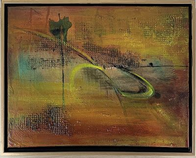 """Expressionism, Contemporary Painting, Mixed Media Art, """"Energy"""" by Texas"""