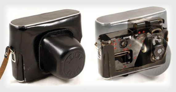 This Soviet Spy Camera Was Disguised as a Camera