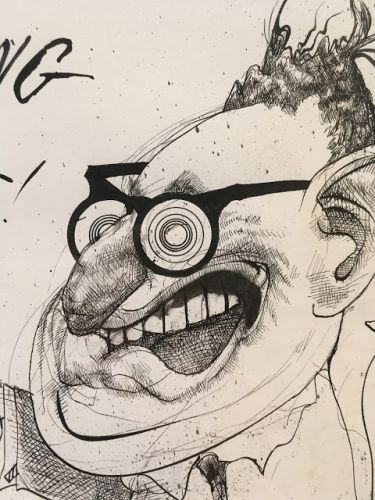 A CONVERSATION WITH RALPH STEADMAN
