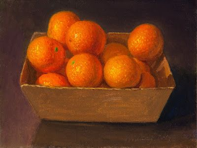Tangerine daily painting a day