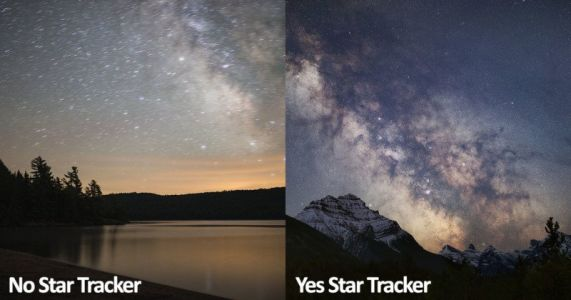 Why and How to Use a Star Tracker for Photos of the Night Sky