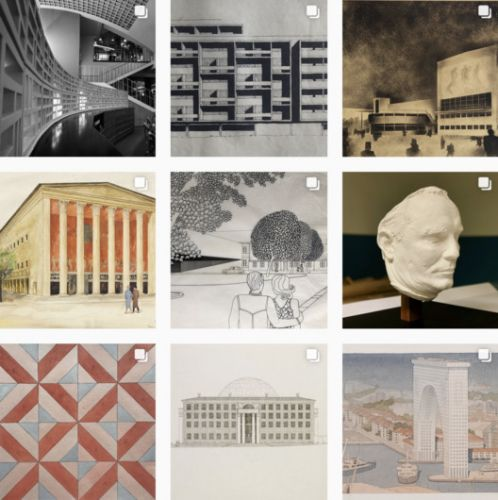 ArkDes Launches New Instagram Uncovering Hidden Objects From Sweden's National Architecture Collection