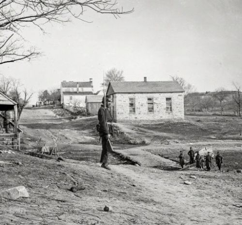 The Old Stone Church: 1862