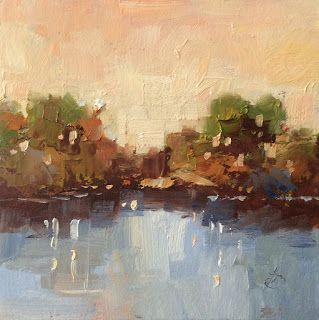 CONTEMPORARY LANDSCAPE by TOM BROWN