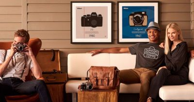 Nikon Unveils Limited Edition 100th Anniversary Camera Posters