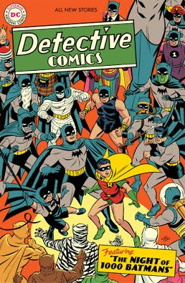 Detective Comics Issue 1000 Variant Cover
