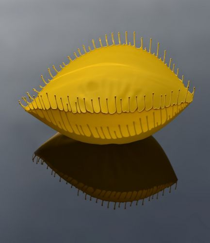 Colorful Ceramics Accented by Gravity-Defying Drips