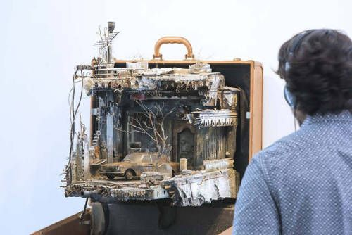 """Unpacked: Refugee Baggage by Mohamad Hafez and Ahmed Badr """"For"""