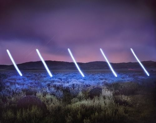 Crossconnectmag: Illuminated Landscapes by Barry Underwood