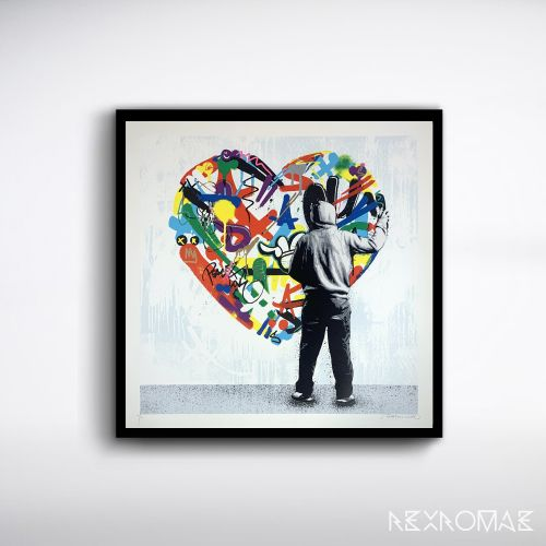 "Martin Whatson ""Paint Love"" Print Release - December 3rd"
