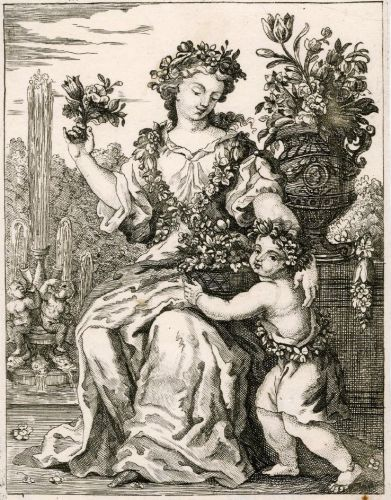 1670s Personification of SPRING