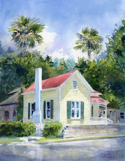 Yellow Cottage in St. Augustine Florida