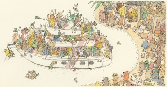 The Drawing for the two last singles for Dance Gavin Dance