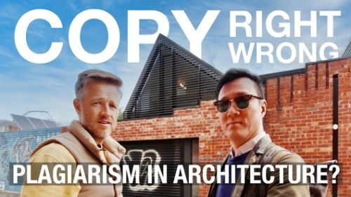 Architecture Plagiarism: Are We Being Inspired or Are We Cheating?