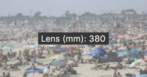 Controversial Photo of 'Crowds' on CA Beach Was Shot with a Telephoto Lens