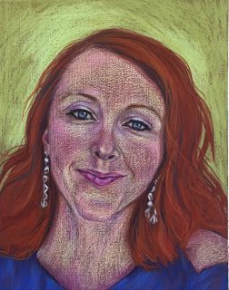 Katie's Portrait by Kim Blair