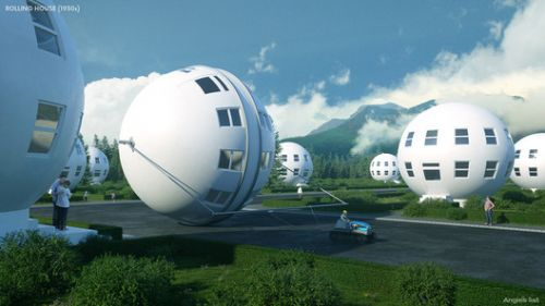 7 Houses of the Future - According to the Past