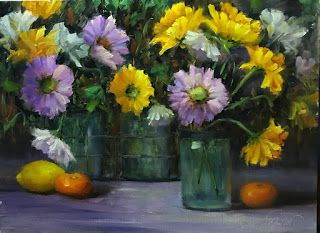 Happy Flowers by artist Pat Meyer