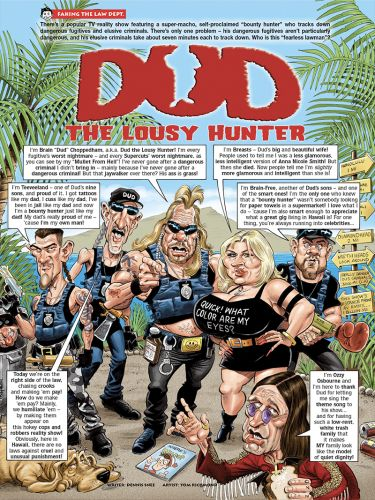 Monday MADness: Dog the Bounty Hunter
