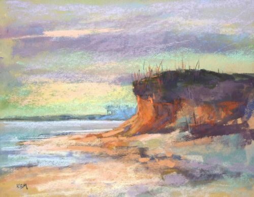 Preserving a Watercolor Underpainting