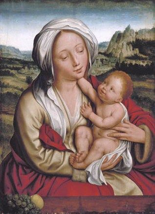 Madonnas attributed to Quentin Massys 1466-1530
