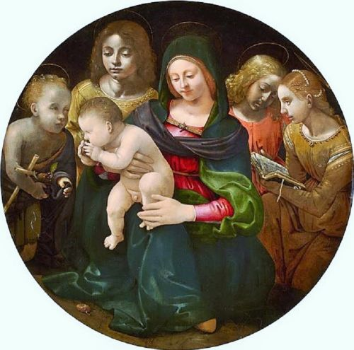 Madonnas attributed to Piero di Cosimo