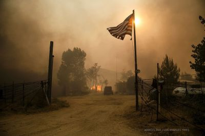 A Fire, a Photojournalist, and an Unexpected Package