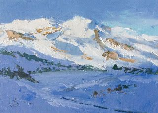 MOUNTAINS, SNOW by TOM BROWN