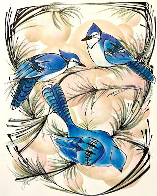 Isolation Series: Blue Jay Day