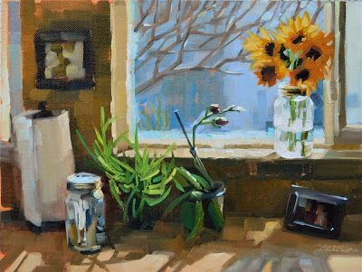 Kitchen Sunflowers