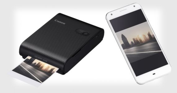 Canon Launches Pocket-Sized 'Selphy Square' Photo Printer