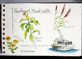 Journal - More from the Marsh Walk - Lin Frye