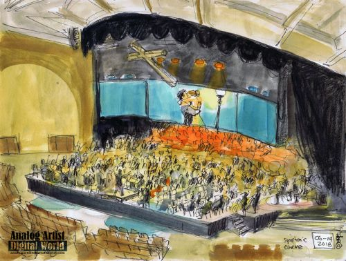 Central Florida Community Arts presented Symphonic Cinema